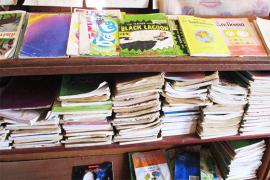 使い古された教科書たち