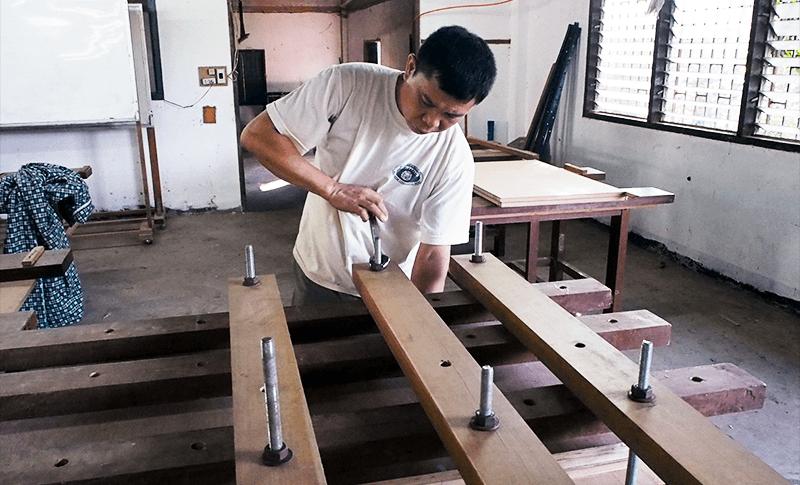 木工コースOJT
